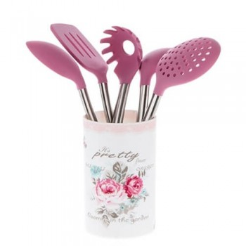 HGU208 6LI SERVİS SETİ PRETTY ROSE